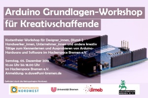 Flyer Arduino Workshop